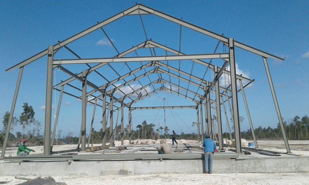 Harga Konstruksi Baja WF